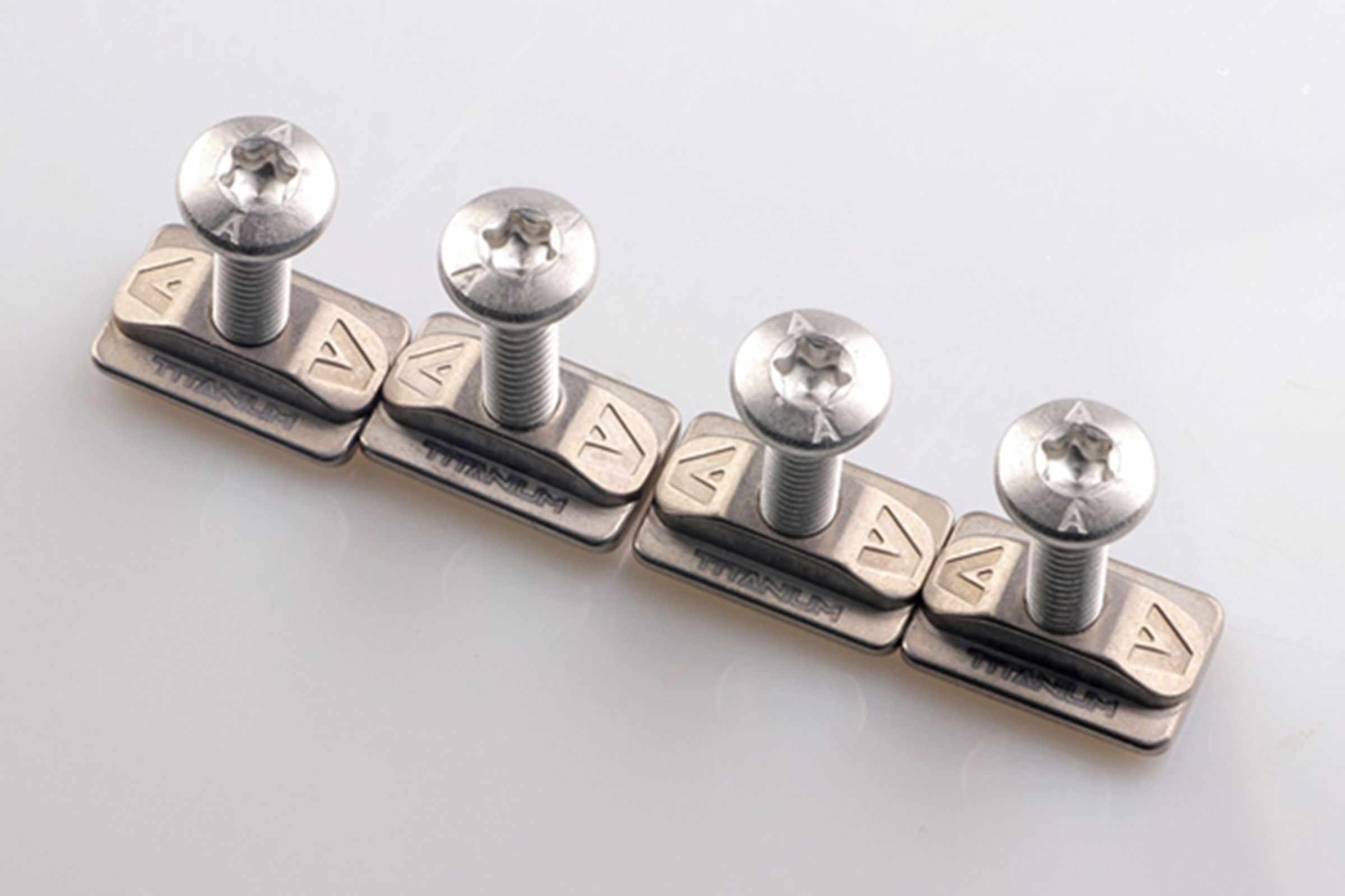 Armstrong Foils - Titanium T Nuts with 316L screws